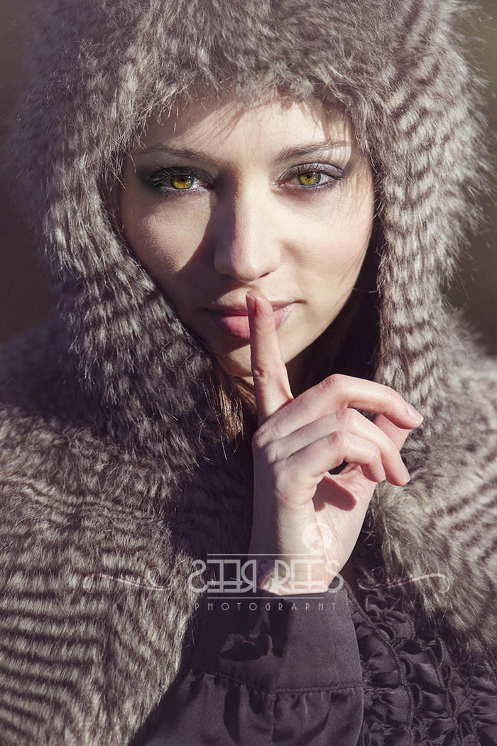 A beautiful image captured... makes you wonder what secrets she has to tell doesn